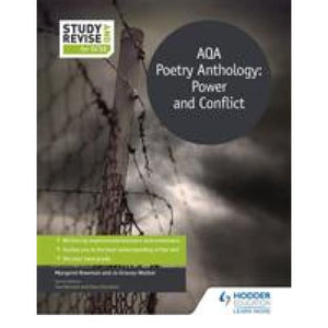 Study and Revise for GCSE: AQA Poetry Anthology: Power Conflict - Hodder Education 9781471853562