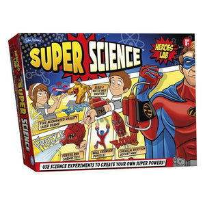 Super Science - Heroes - John Adams 5020674104588