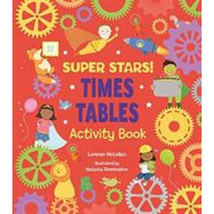 Super Stars! Times Tables Activity Book - Arcturus Publishing 9781788285988