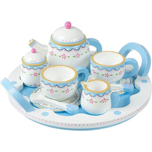 Tea Set and Tray - Orange Tree Toys