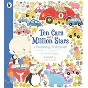 Ten Cars and a Million Stars: A Counting Storybook - Walker Books 9781406385649
