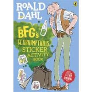 The BFG's Gloriumptious Sticker Activity Book - Penguin Books 9780141361529