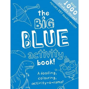 The Big Blue Activity Book - Templar Publishing 9781783701056