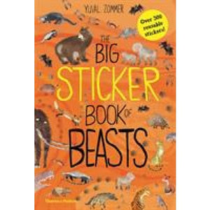 The Big Sticker Book of Beasts - Thames & Hudson 9780500651339