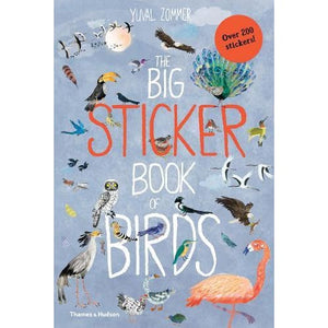 The Big Sticker Book of Birds - Thames & Hudson 9780500652008