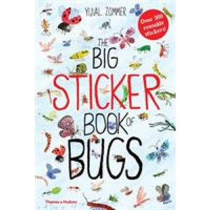 The Big Sticker Book of Bugs - Thames & Hudson 9780500651346