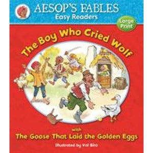 The Boy Who Cried Wolf: with Goose That Laid the Golden Eggs - Award Publications 9781841359571