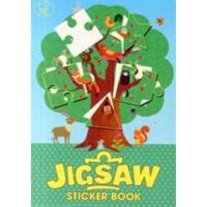 The Jigsaw Sticker Book - Michael O'Mara Books 9781780553573