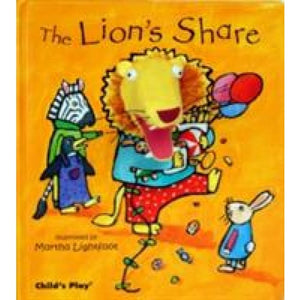 The Lion's Share - Child's Play International 9781846432484