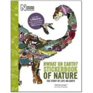 The Nature Timeline Stickerbook - What on Earth Publishing 9780956593689