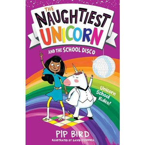 The Naughtiest Unicorn and the School Disco - Egmont 9781405294812