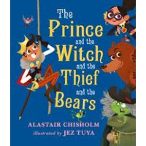 The Prince and the Witch Thief Bears - Walker Books 9781406365139