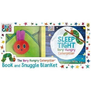 The Very Hungry Caterpillar Book and Snuggle Blanket - Penguin Books 9780241329917
