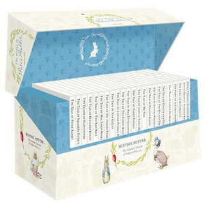 The World of Peter Rabbit - Complete Collection Original Tales 1-23 White Jackets - Penguin Books 9780723275923