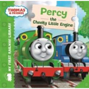 Thomas & Friends: My First Railway Library: Percy the Cheeky Little Engine - Egmont 9781405275057