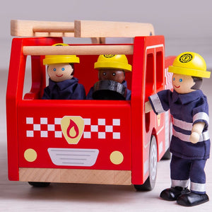 Tidlo City Fire Engine - 691621711316
