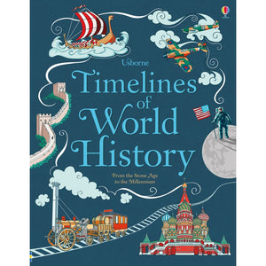 Timelines of World History - Usborne Books 9781474903936