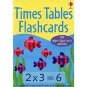 Times Tables Flashcards - Usborne Books 9780746087893