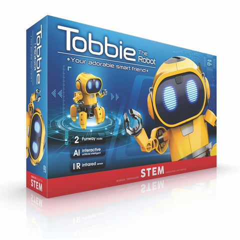 Image of Tobbie Robot the self guiding AI DIY - Gadget Store