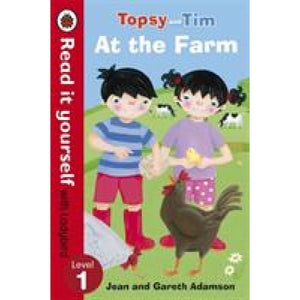 Topsy and Tim: At the Farm - Read it yourself with Ladybird: Level 1 - Penguin Books 9780723290810