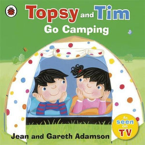 Topsy and Tim: Go Camping - Penguin Books 9781409303336