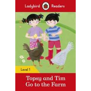 Topsy and Tim: Go to the Farm - Ladybird Readers Level 1 - Penguin Books 9780241283554