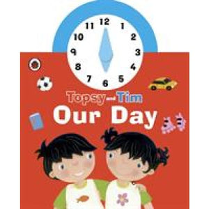 Topsy and Tim: Our Day Clock Book - Penguin Books 9780241196441