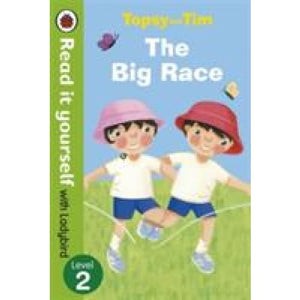 Topsy and Tim: The Big Race - Read it yourself with Ladybird: Level 2 - Penguin Books 9780723273851