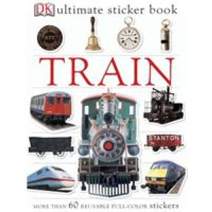 Train Ultimate Sticker Book - Dorling Kindersley 9781405314510