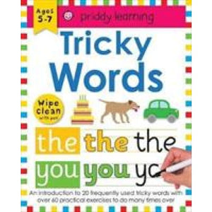 Tricky Words: Wipe Clean Workbooks - Priddy Books 9781783416004