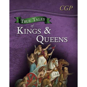 True Tales of Kings & Queens - Reading Book: Boudica Alfred the Great King John Queen Victoria - CGP Books 9781847624741