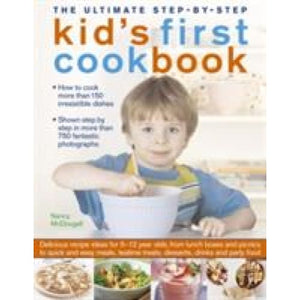 Ultimate Step-by-Step Kid's First Cookbook - Anness Publishing 9781780193243