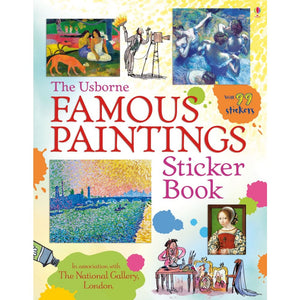 Usborne Famous Paintings Sticker Book - Books