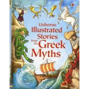 Usborne Illustrated Stories from the Greek Myths - Books