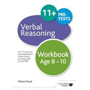 Verbal Reasoning Workbook Age 8-10: For 11+ pre-test and independent school exams including CEM GL ISEB - Hodder Education 9781471849312