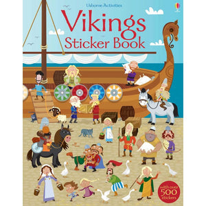 Vikings Sticker Book - Usborne Books 9781409563433