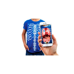 Virtuali-Tee Augmented Reality T shirt M - Curiscope 5060534240025