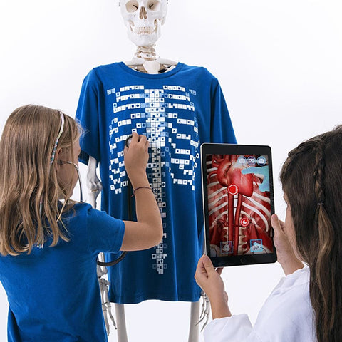 Image of Virtuali-Tee Augmented Reality T shirt XL - Curiscope