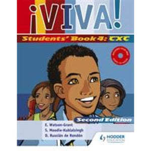 Viva Students' Book 4 with Audio CD - Hodder Education 9780582794610