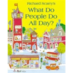 What Do People All Day? - HarperCollins Publishers 9780007353699