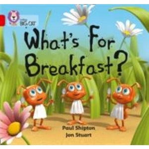 What's For Breakfast: Band 02b/Red B - HarperCollins Publishers 9780007186686