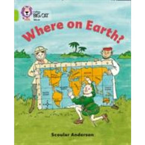 Where on Earth?: Band 11/Lime - HarperCollins Publishers 9780007186334