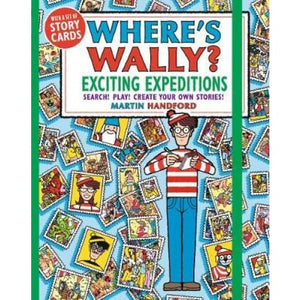 Where's Wally? Exciting Expeditions: Search! Play! Create Your Own Stories! - Walker Books 9781406385540