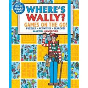 Wheres Wally Games on the Go! Puzzles Activities & Searches - Walker Books