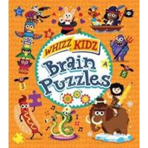 Whizz Kidz: Brain Puzzles - Arcturus Publishing 9781788281010