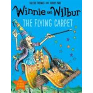 Winnie and Wilbur: The Flying Carpet with audio CD - Oxford University Press 9780192749109