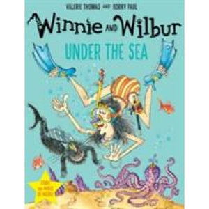 Winnie and Wilbur under the Sea with audio CD - Oxford University Press 9780192749208