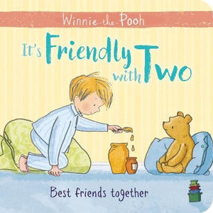 Winnie-the-Pooh: It's Friendly with Two - Egmont 9781405293341