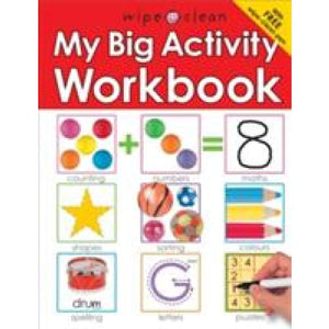 Wipe Clean My Big Activity Work Book - Priddy Books 9781843325772
