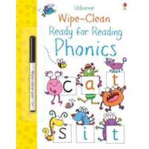 Wipe-Clean Ready for Reading Phonics - Usborne Books